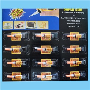 12pcs Blister Pack 3g Super Glue