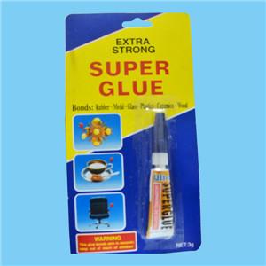 3g Blister Tube en aluminium Super Glue