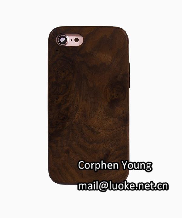 Holz-Telefon-Fall