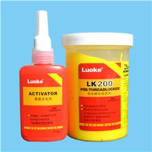 乐泰的Dri-LOC 200黄色当量预先施加的螺纹锁