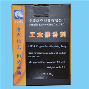LK114 Devcon alternative Bronze Putty